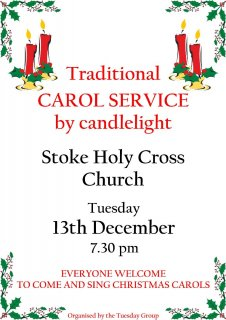 Traditional Candlelit Carol Service
