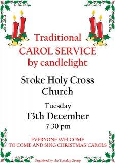 Traditional Candlelit Carol Service