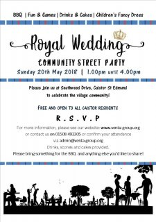 Royal Wedding Community Street Party