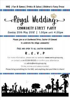 Royal Wedding Community Street Party