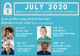 What is the Spirit saying to the churches? with Rob Bewley