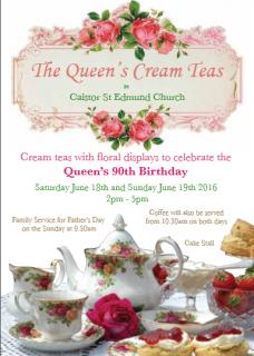 The Queen's Cream Tea!