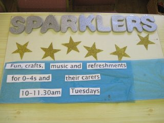 Sparklers (Toddlers)