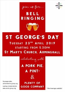 St Georges Day Bell Ringing