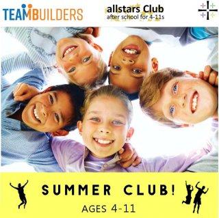 Allstars - SUMMER CLUB 'Teambuilders'