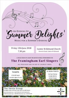 Summer Delights Concert!